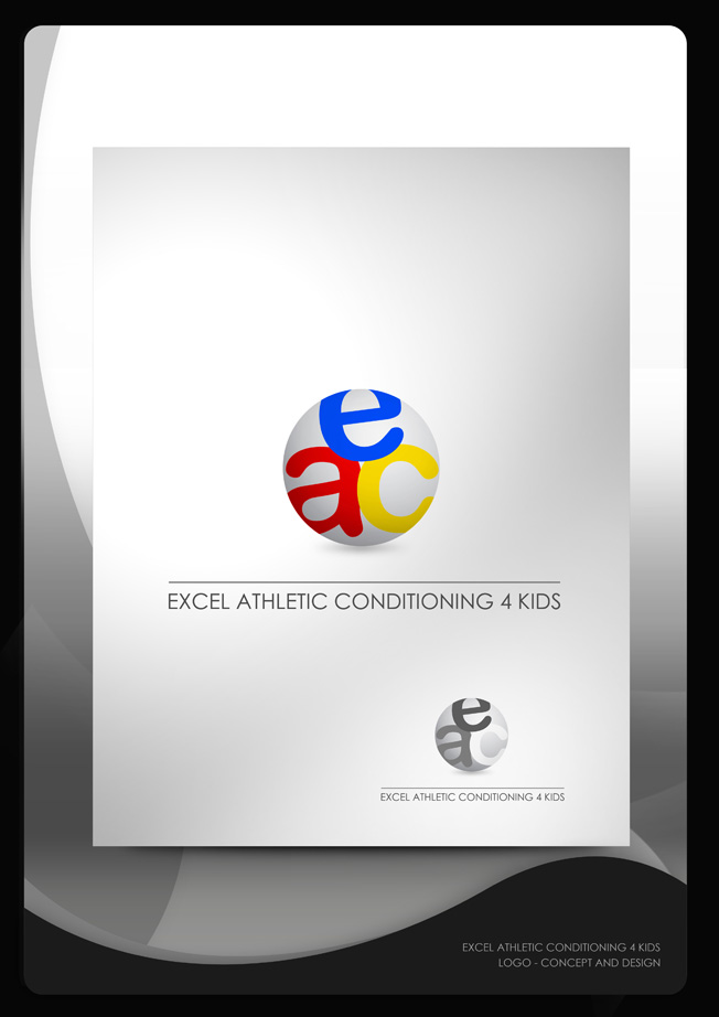 Logo Design by Mark Anthony Moreto Jordan - Entry No. 8 in the Logo Design Contest Artistic Logo Design for Excel Athletic Conditioning 4 kids.