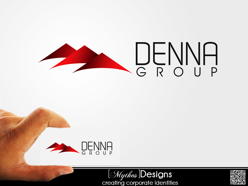 Logo Design by Mythos Designs - Entry No. 21 in the Logo Design Contest Denna Group Logo Design.
