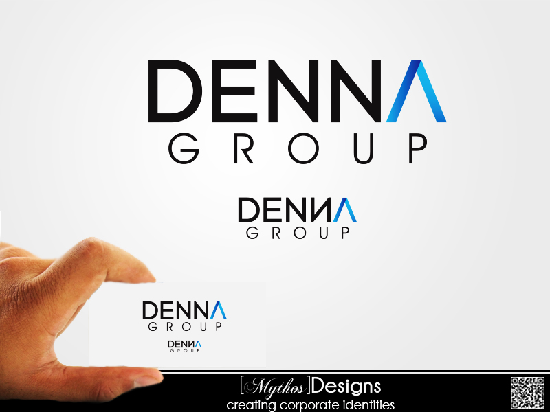 Logo Design by Mythos Designs - Entry No. 22 in the Logo Design Contest Denna Group Logo Design.
