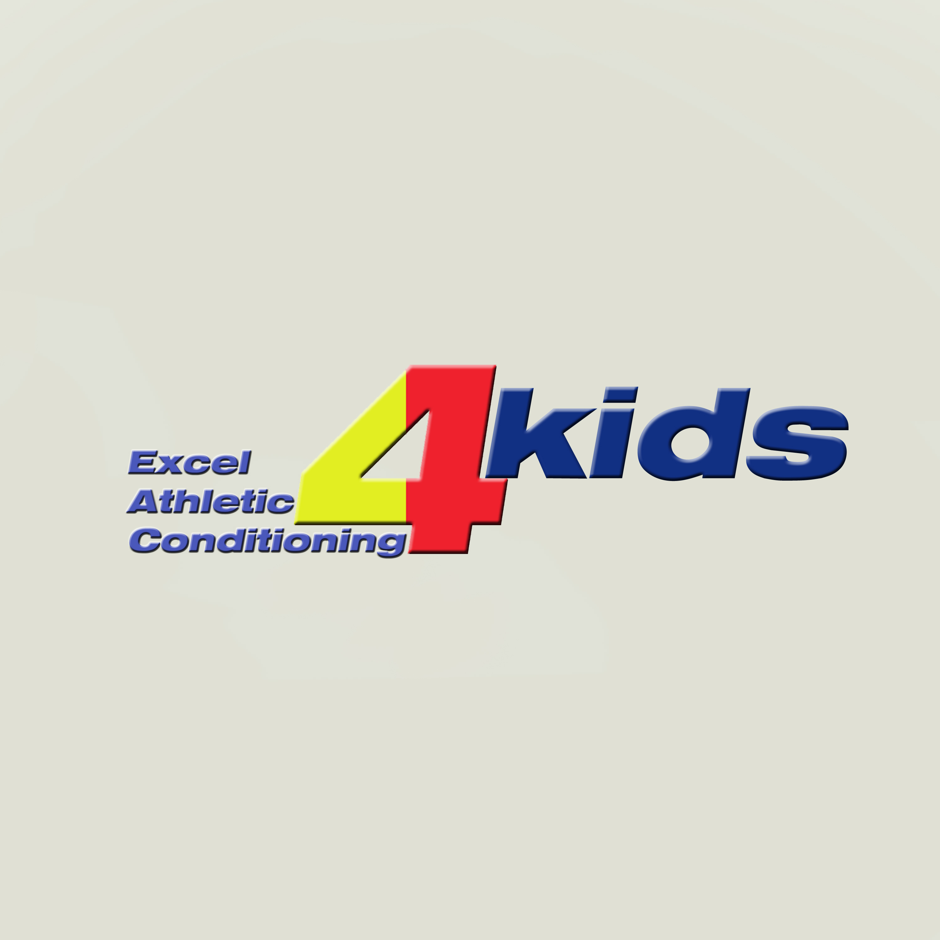 Logo Design by Roberto Sibbaluca - Entry No. 10 in the Logo Design Contest Artistic Logo Design for Excel Athletic Conditioning 4 kids.