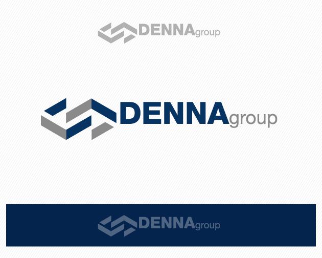 Logo Design by typography - Entry No. 23 in the Logo Design Contest Denna Group Logo Design.