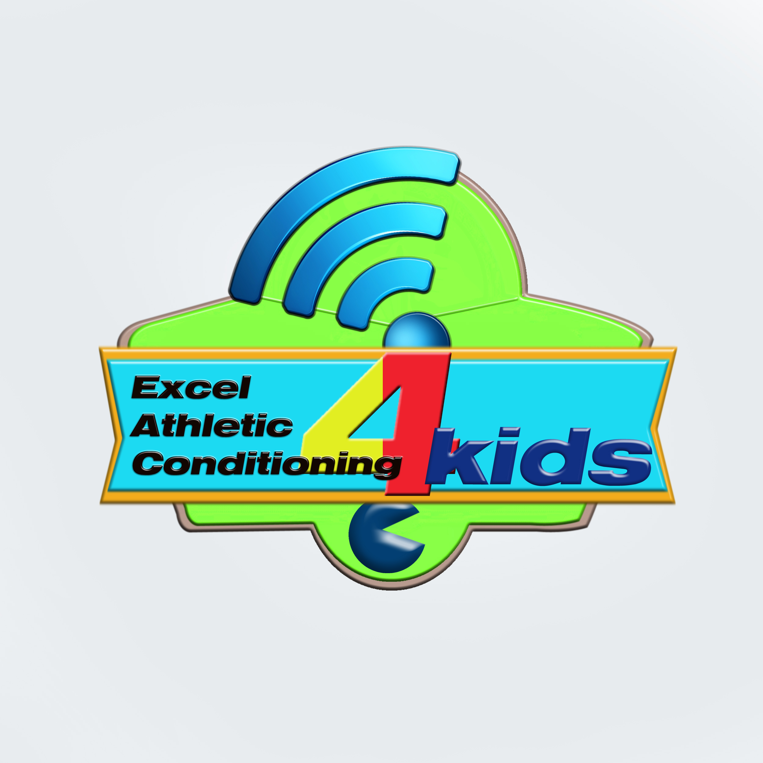 Logo Design by Roberto Sibbaluca - Entry No. 11 in the Logo Design Contest Artistic Logo Design for Excel Athletic Conditioning 4 kids.