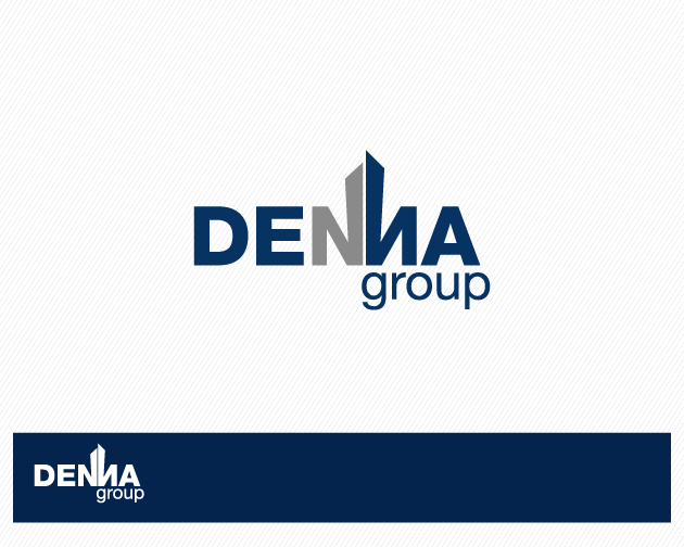 Logo Design by typography - Entry No. 25 in the Logo Design Contest Denna Group Logo Design.