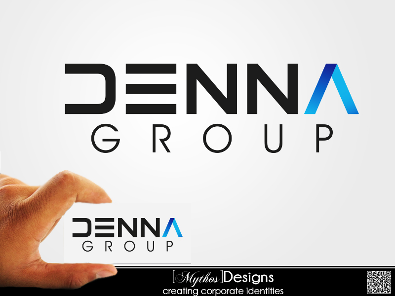 Logo Design by Mythos Designs - Entry No. 26 in the Logo Design Contest Denna Group Logo Design.