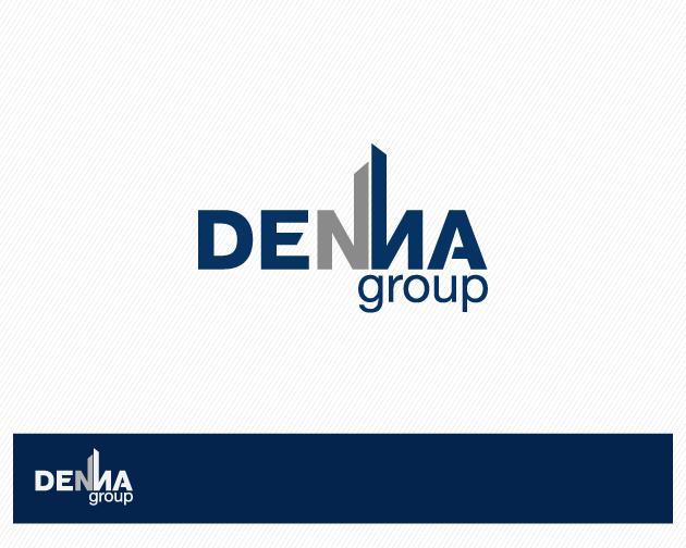 Logo Design by typography - Entry No. 27 in the Logo Design Contest Denna Group Logo Design.