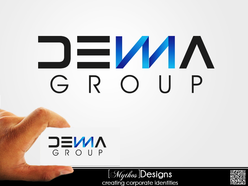 Logo Design by Mythos Designs - Entry No. 29 in the Logo Design Contest Denna Group Logo Design.
