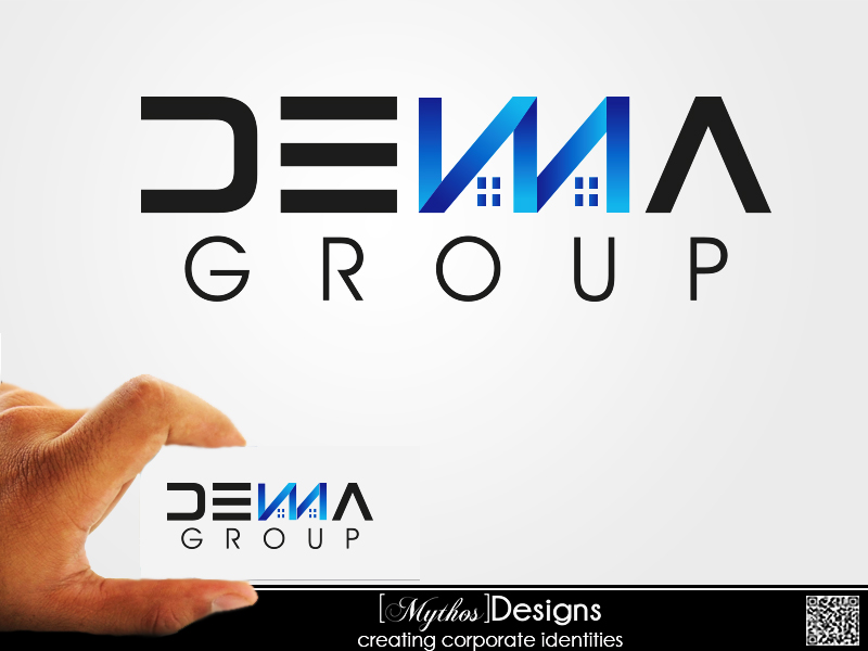 Logo Design by Mythos Designs - Entry No. 30 in the Logo Design Contest Denna Group Logo Design.