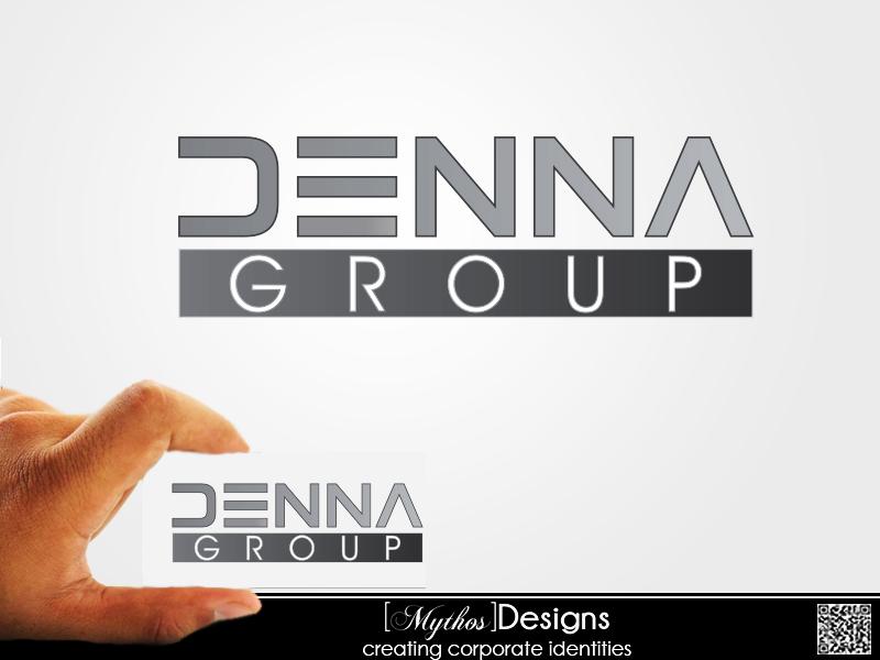 Logo Design by Mythos Designs - Entry No. 37 in the Logo Design Contest Denna Group Logo Design.