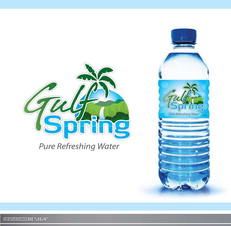 Logo Design by kowreck - Entry No. 82 in the Logo Design Contest Inspiring Logo Design for Gulf Spring.