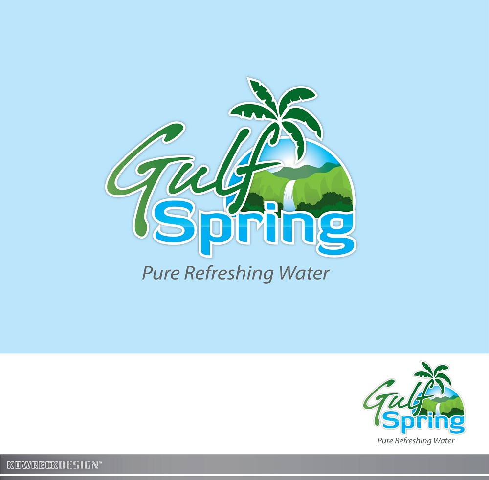 Logo Design by kowreck - Entry No. 84 in the Logo Design Contest Inspiring Logo Design for Gulf Spring.