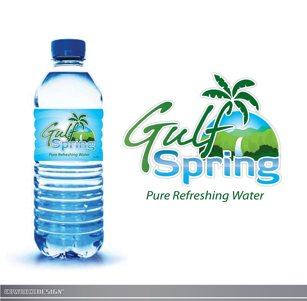 Logo Design by kowreck - Entry No. 86 in the Logo Design Contest Inspiring Logo Design for Gulf Spring.