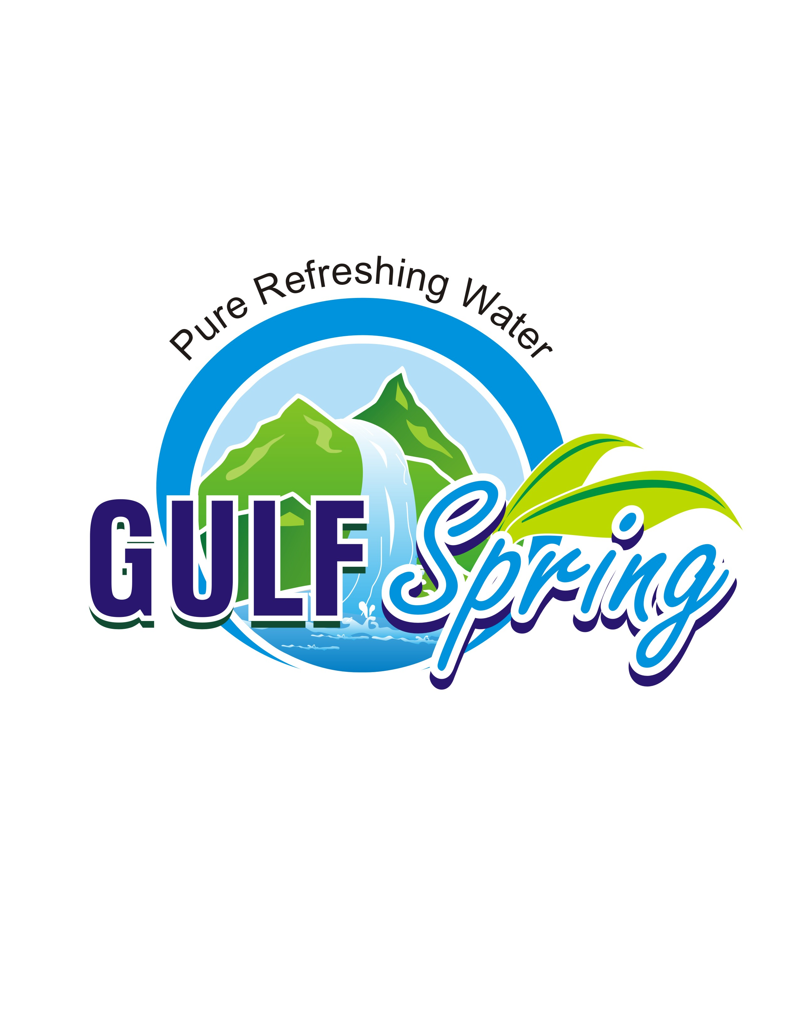 Logo Design by Mahida Kirit Chandrasinh - Entry No. 93 in the Logo Design Contest Inspiring Logo Design for Gulf Spring.