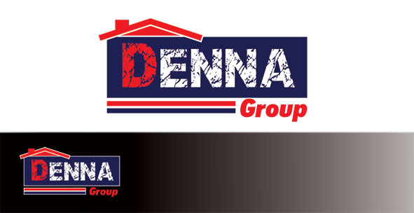 Logo Design by Mohamed Sheikh - Entry No. 40 in the Logo Design Contest Denna Group Logo Design.