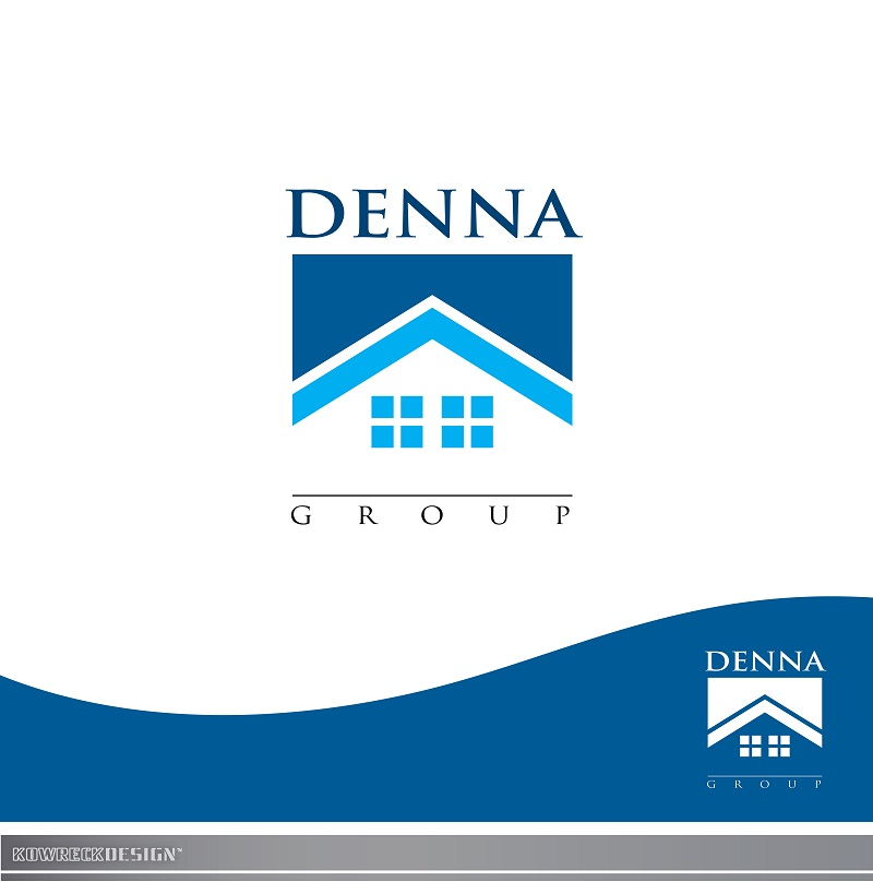 Logo Design by kowreck - Entry No. 42 in the Logo Design Contest Denna Group Logo Design.