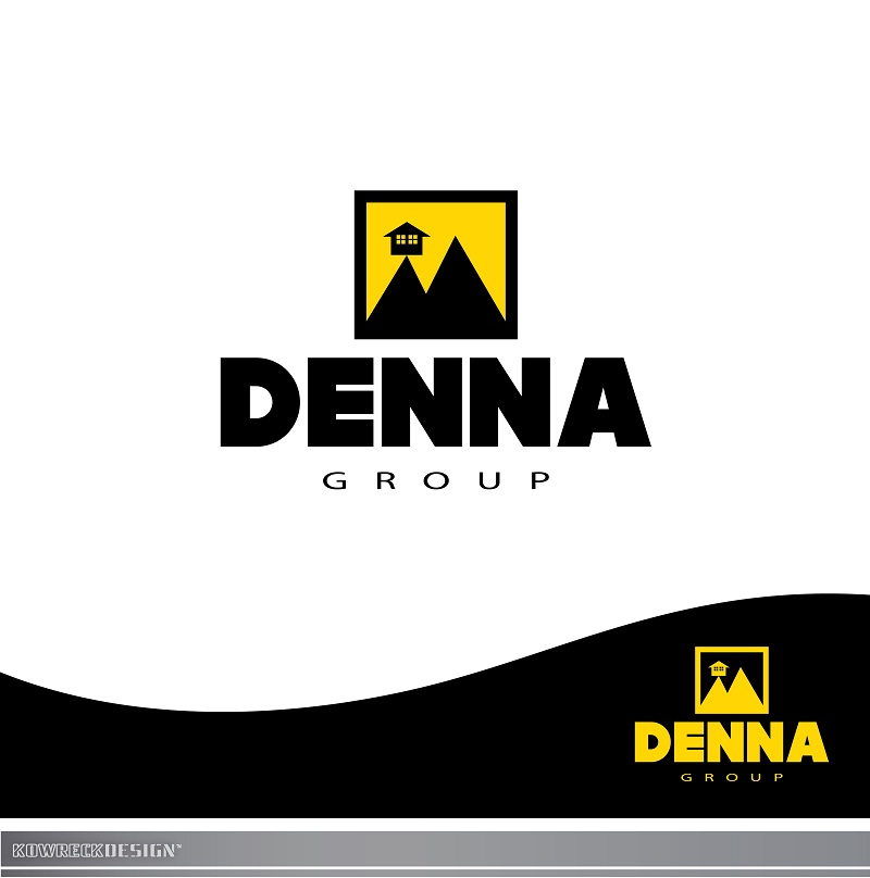 Logo Design by kowreck - Entry No. 44 in the Logo Design Contest Denna Group Logo Design.