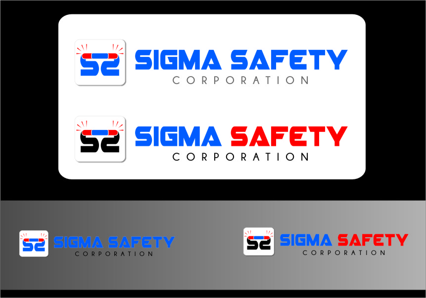 Logo Design by RasYa Muhammad Athaya - Entry No. 233 in the Logo Design Contest Creative Logo Design for Sigma Safety Corporation.
