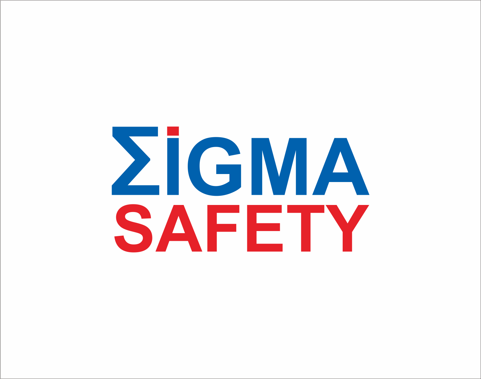 Logo Design by Armada Jamaluddin - Entry No. 246 in the Logo Design Contest Creative Logo Design for Sigma Safety Corporation.