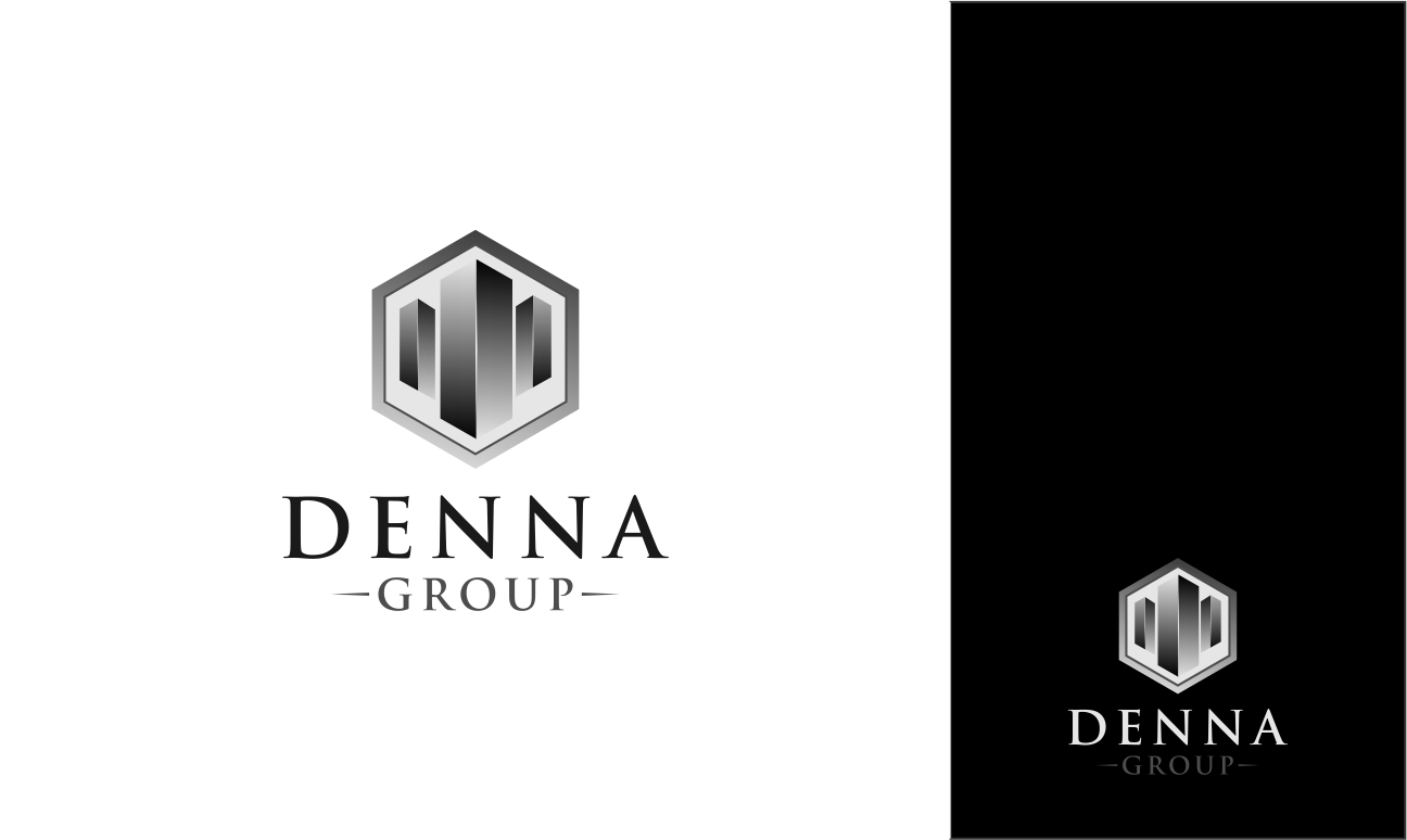Logo Design by haidu - Entry No. 49 in the Logo Design Contest Denna Group Logo Design.