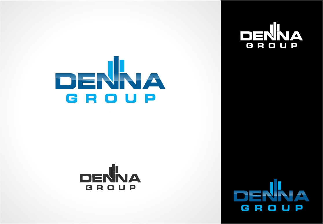 Logo Design by haidu - Entry No. 51 in the Logo Design Contest Denna Group Logo Design.