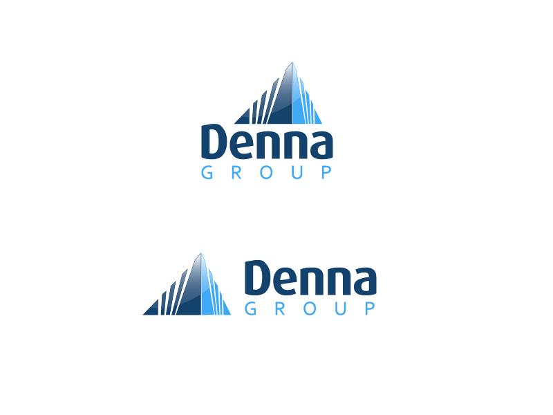 Logo Design by ddamian_dd - Entry No. 55 in the Logo Design Contest Denna Group Logo Design.