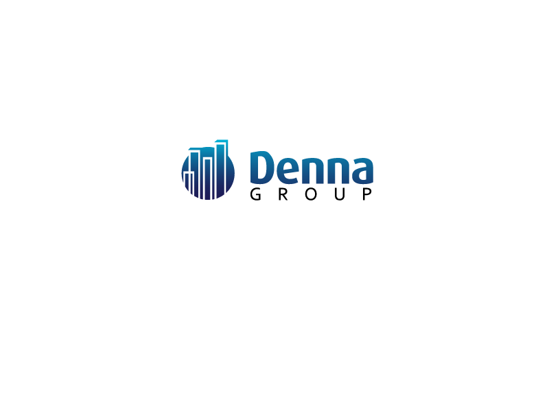 Logo Design by ddamian_dd - Entry No. 58 in the Logo Design Contest Denna Group Logo Design.