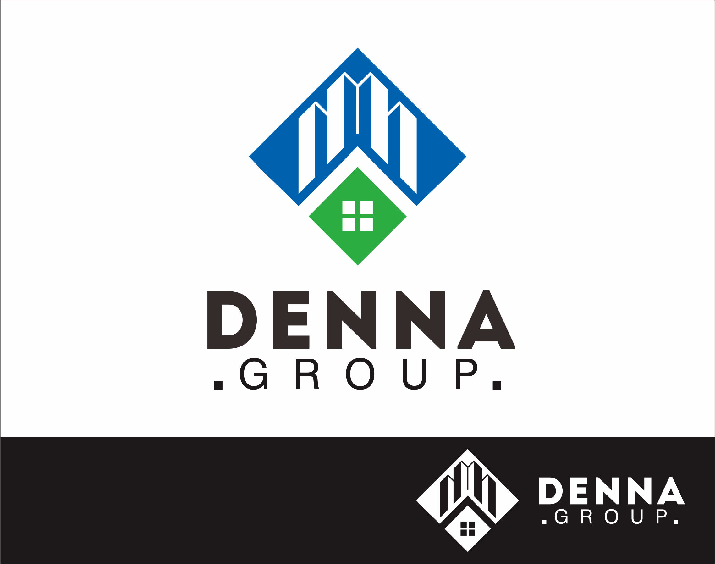 Logo Design by Armada Jamaluddin - Entry No. 59 in the Logo Design Contest Denna Group Logo Design.