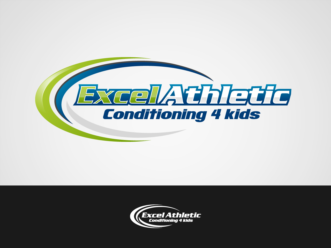 Logo Design by jpbituin - Entry No. 20 in the Logo Design Contest Artistic Logo Design for Excel Athletic Conditioning 4 kids.