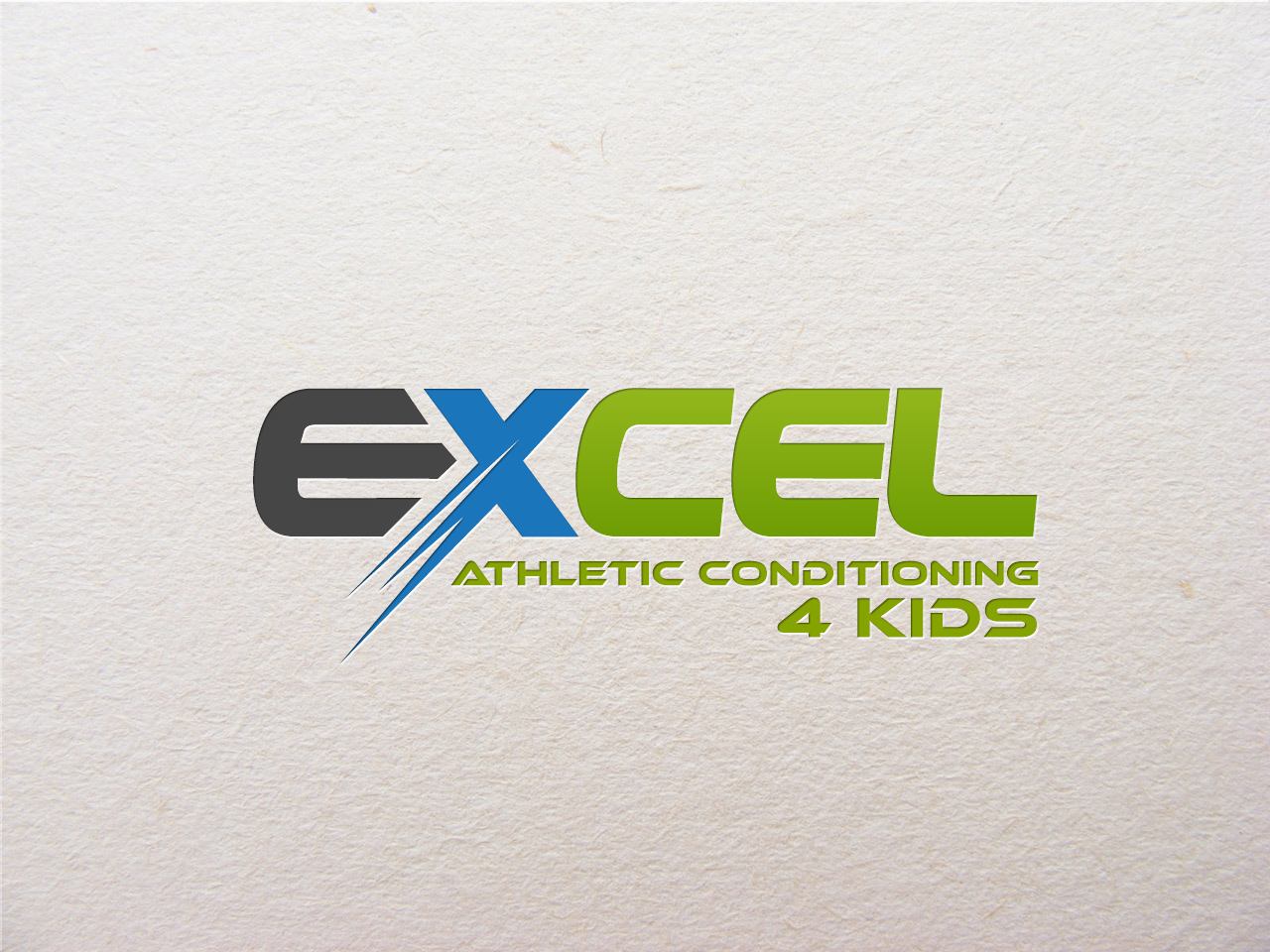Logo Design by jpbituin - Entry No. 22 in the Logo Design Contest Artistic Logo Design for Excel Athletic Conditioning 4 kids.
