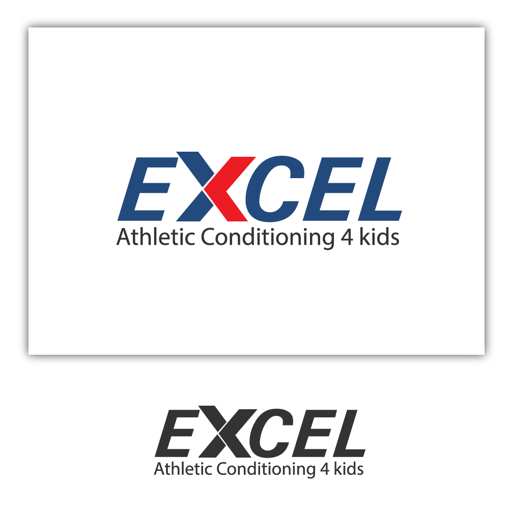 Logo Design by rockin - Entry No. 24 in the Logo Design Contest Artistic Logo Design for Excel Athletic Conditioning 4 kids.