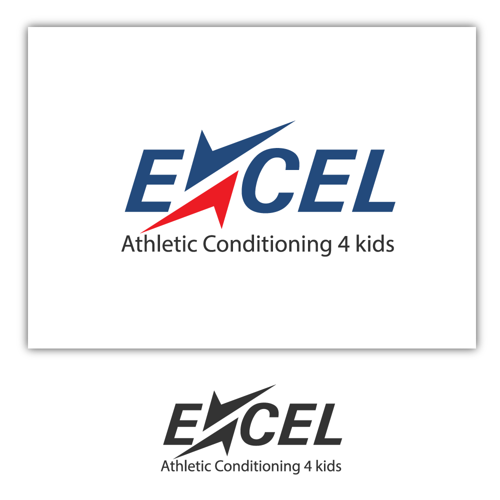 Logo Design by rockin - Entry No. 25 in the Logo Design Contest Artistic Logo Design for Excel Athletic Conditioning 4 kids.