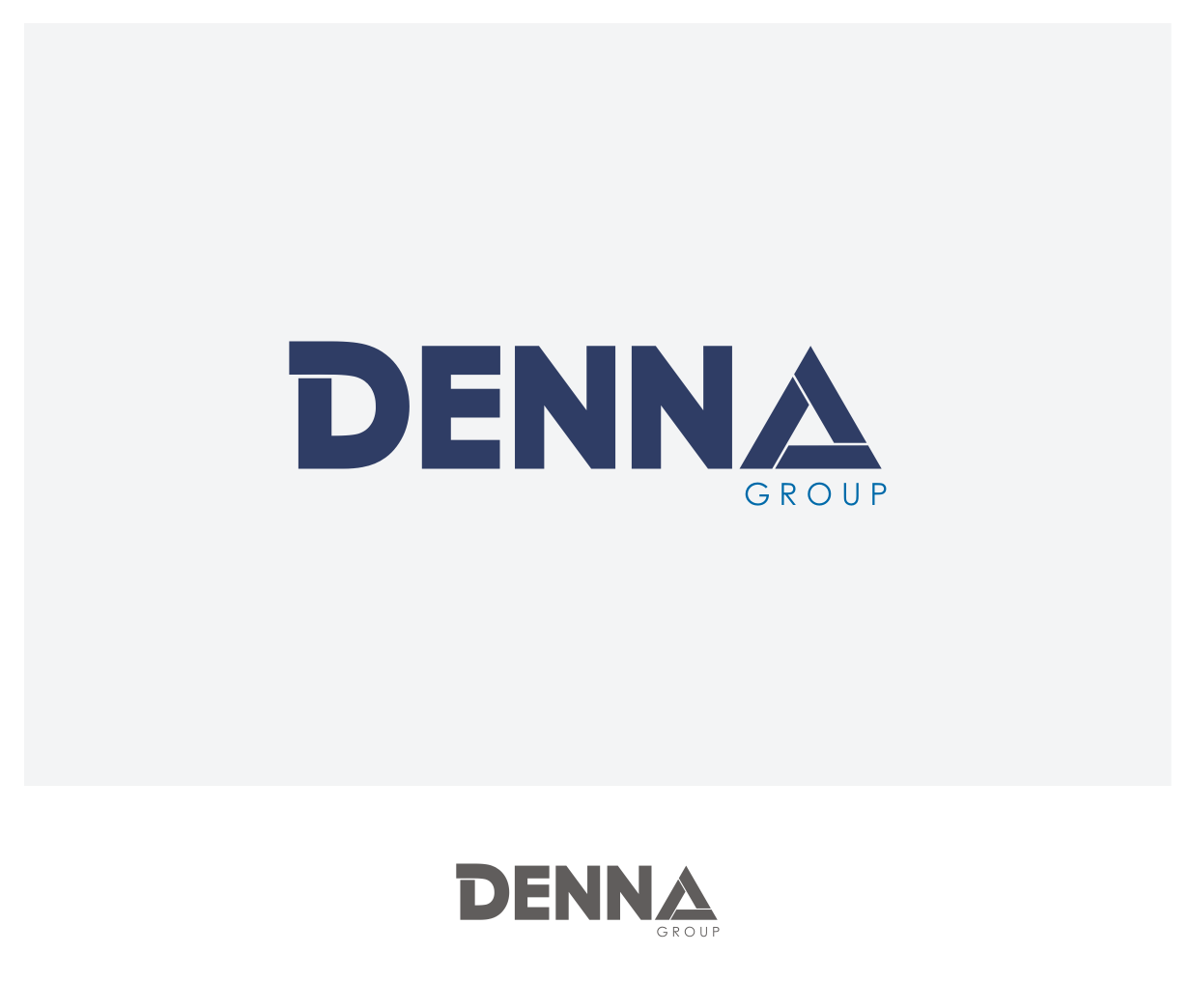 Logo Design by Joe Teach - Entry No. 69 in the Logo Design Contest Denna Group Logo Design.