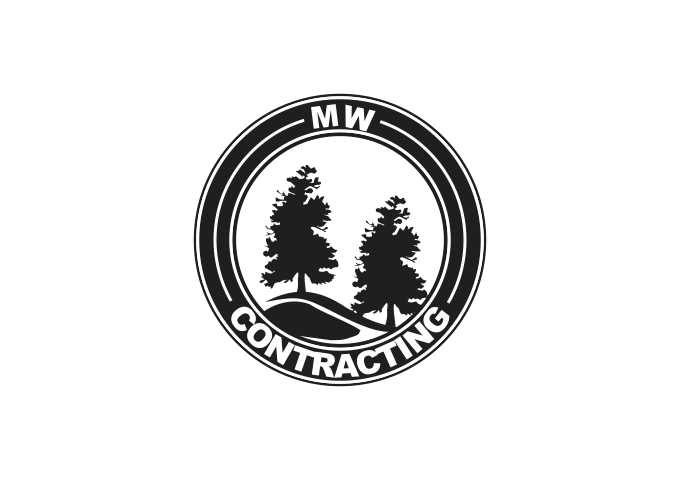 Logo Design by Rizwan Saeed - Entry No. 6 in the Logo Design Contest Unique Logo Design Wanted for MW Contracting.