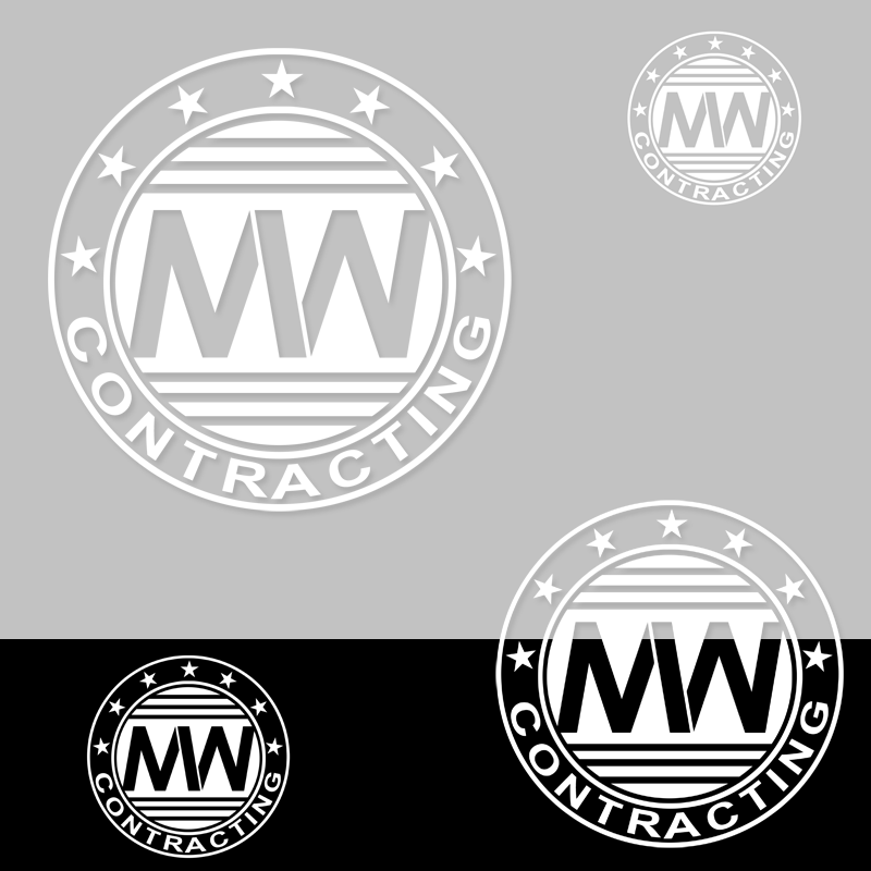 Logo Design by Private User - Entry No. 7 in the Logo Design Contest Unique Logo Design Wanted for MW Contracting.
