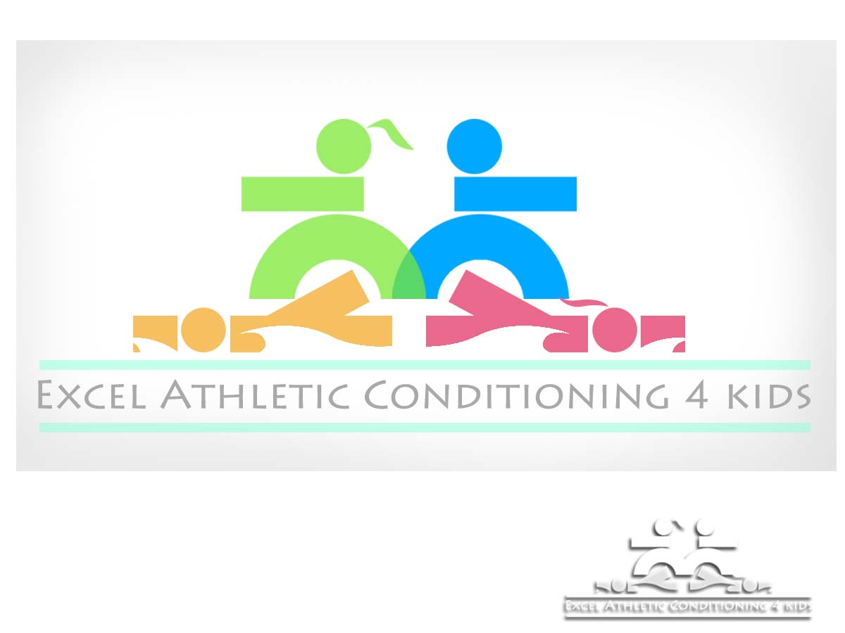 Logo Design by Private User - Entry No. 29 in the Logo Design Contest Artistic Logo Design for Excel Athletic Conditioning 4 kids.