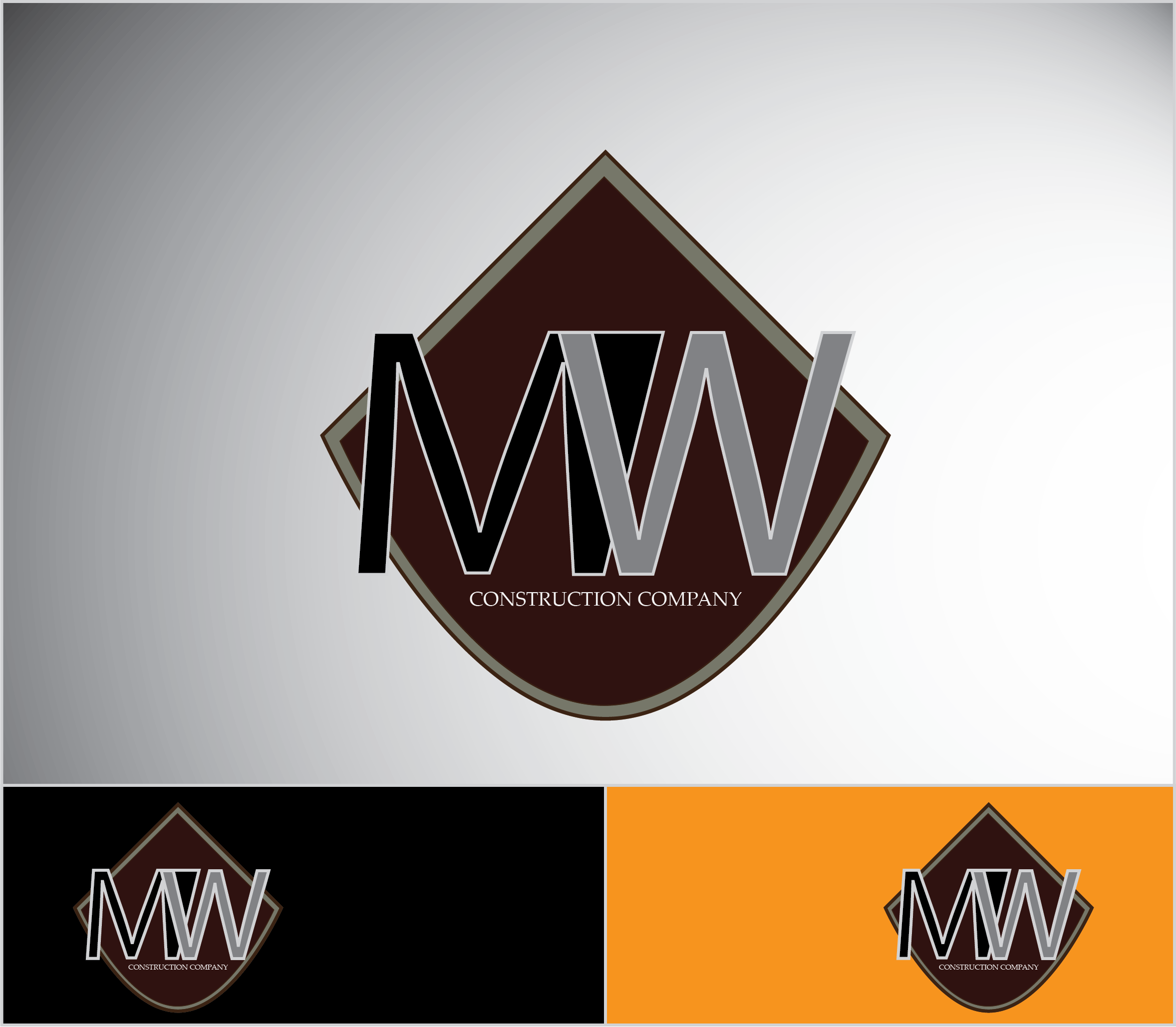 Logo Design by rome2 - Entry No. 8 in the Logo Design Contest Unique Logo Design Wanted for MW Contracting.