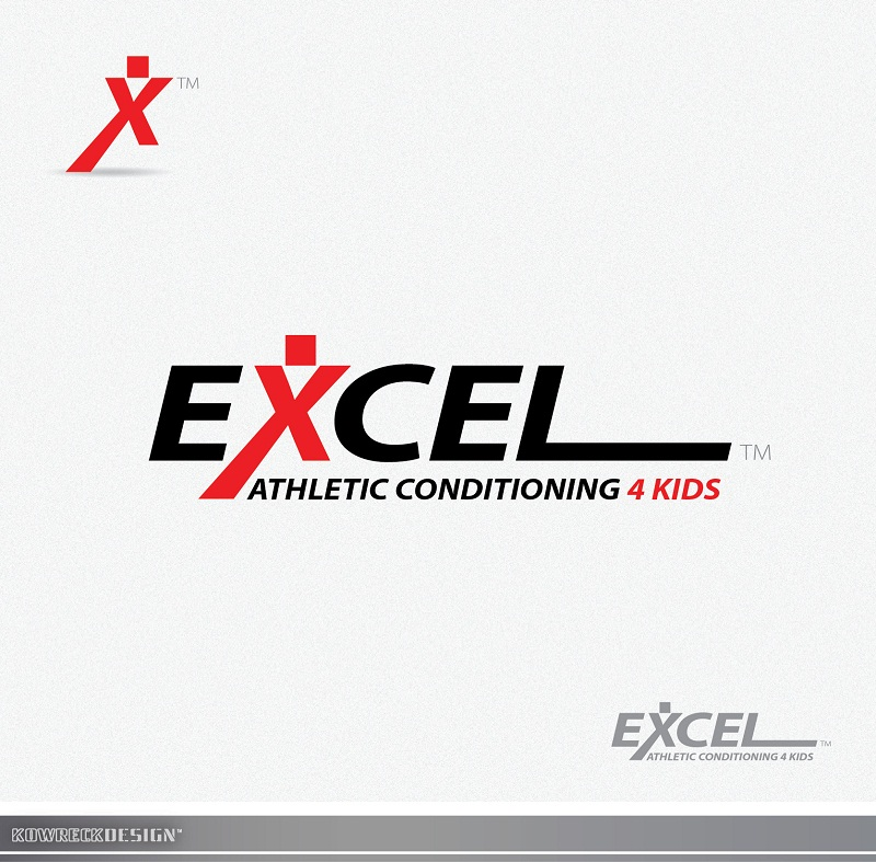 Logo Design by kowreck - Entry No. 33 in the Logo Design Contest Artistic Logo Design for Excel Athletic Conditioning 4 kids.