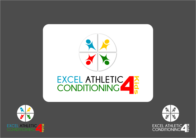 Logo Design by RoSyid Rono-Rene On Java - Entry No. 36 in the Logo Design Contest Artistic Logo Design for Excel Athletic Conditioning 4 kids.