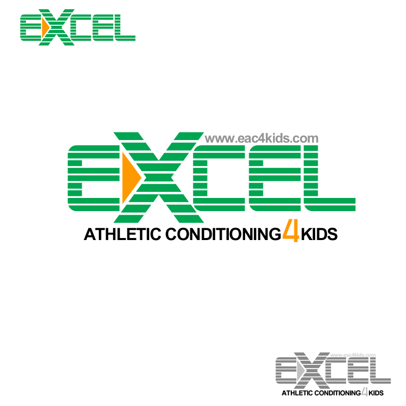 Logo Design by Private User - Entry No. 43 in the Logo Design Contest Artistic Logo Design for Excel Athletic Conditioning 4 kids.