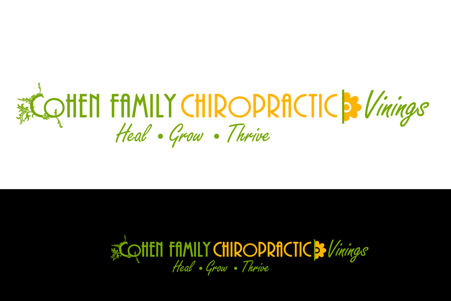 Logo Design by Private User - Entry No. 49 in the Logo Design Contest Unique Logo Design Wanted for Cohen Family Chiropractic.