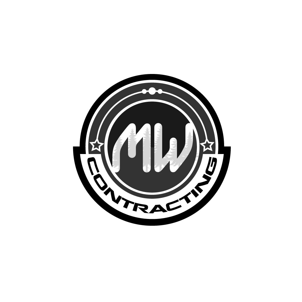 Logo Design by rockin - Entry No. 16 in the Logo Design Contest Unique Logo Design Wanted for MW Contracting.