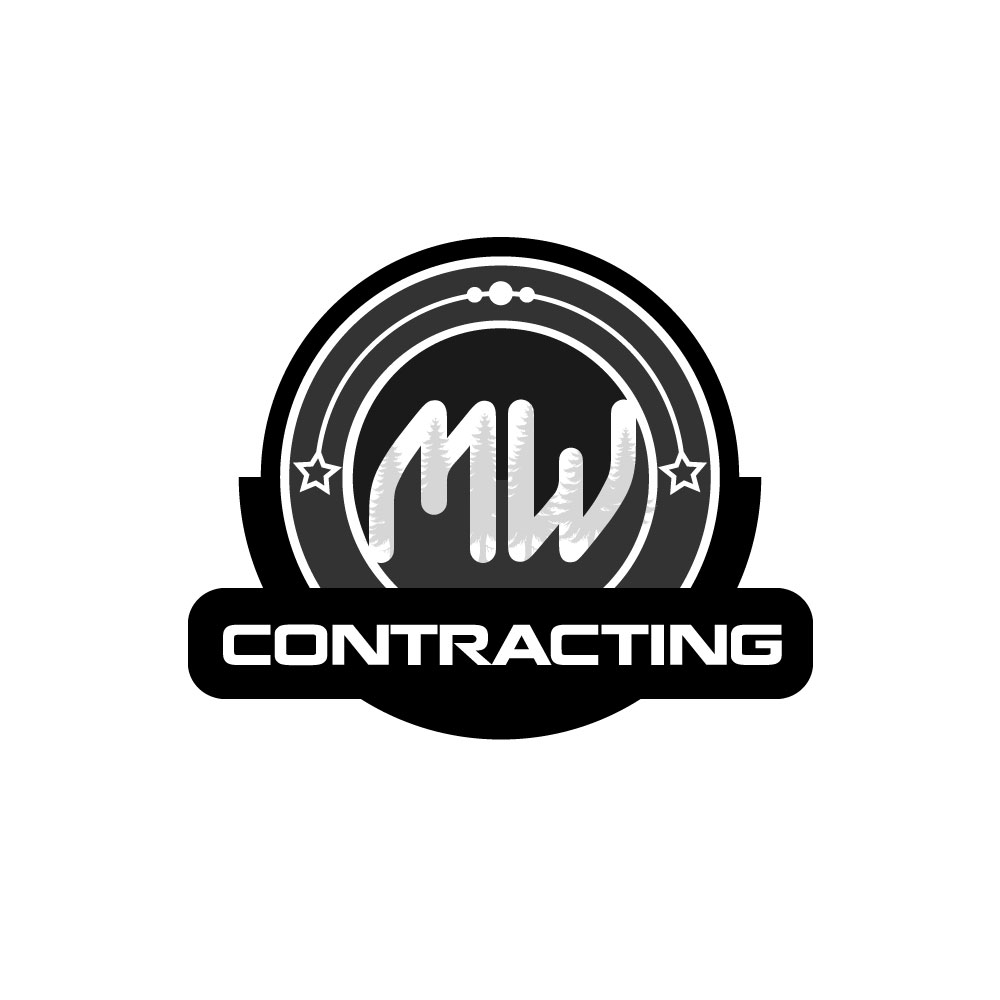 Logo Design by rockin - Entry No. 17 in the Logo Design Contest Unique Logo Design Wanted for MW Contracting.