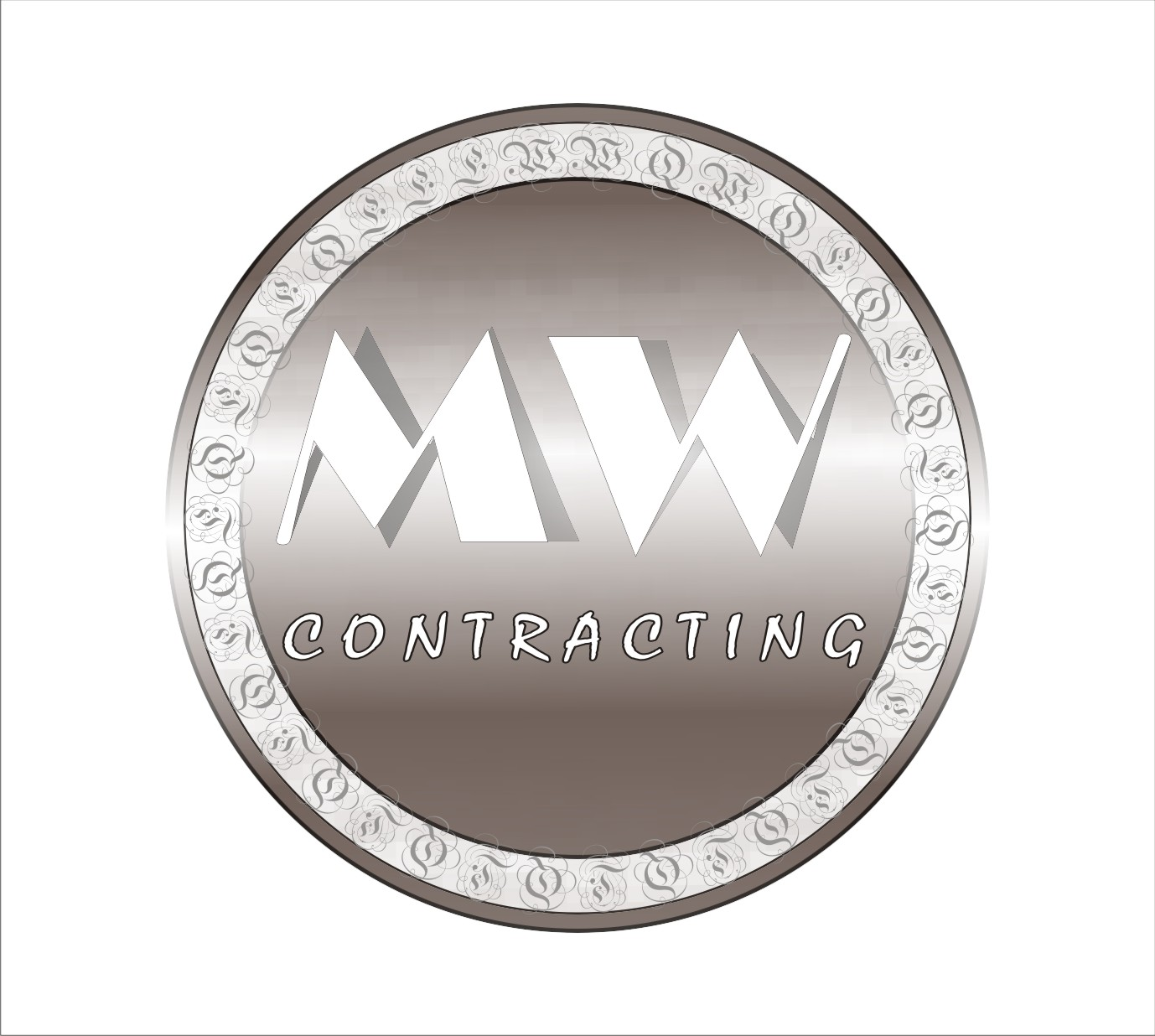 Logo Design by Shailender Kumar - Entry No. 18 in the Logo Design Contest Unique Logo Design Wanted for MW Contracting.