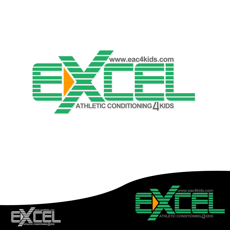 Logo Design by Robert Turla - Entry No. 46 in the Logo Design Contest Artistic Logo Design for Excel Athletic Conditioning 4 kids.