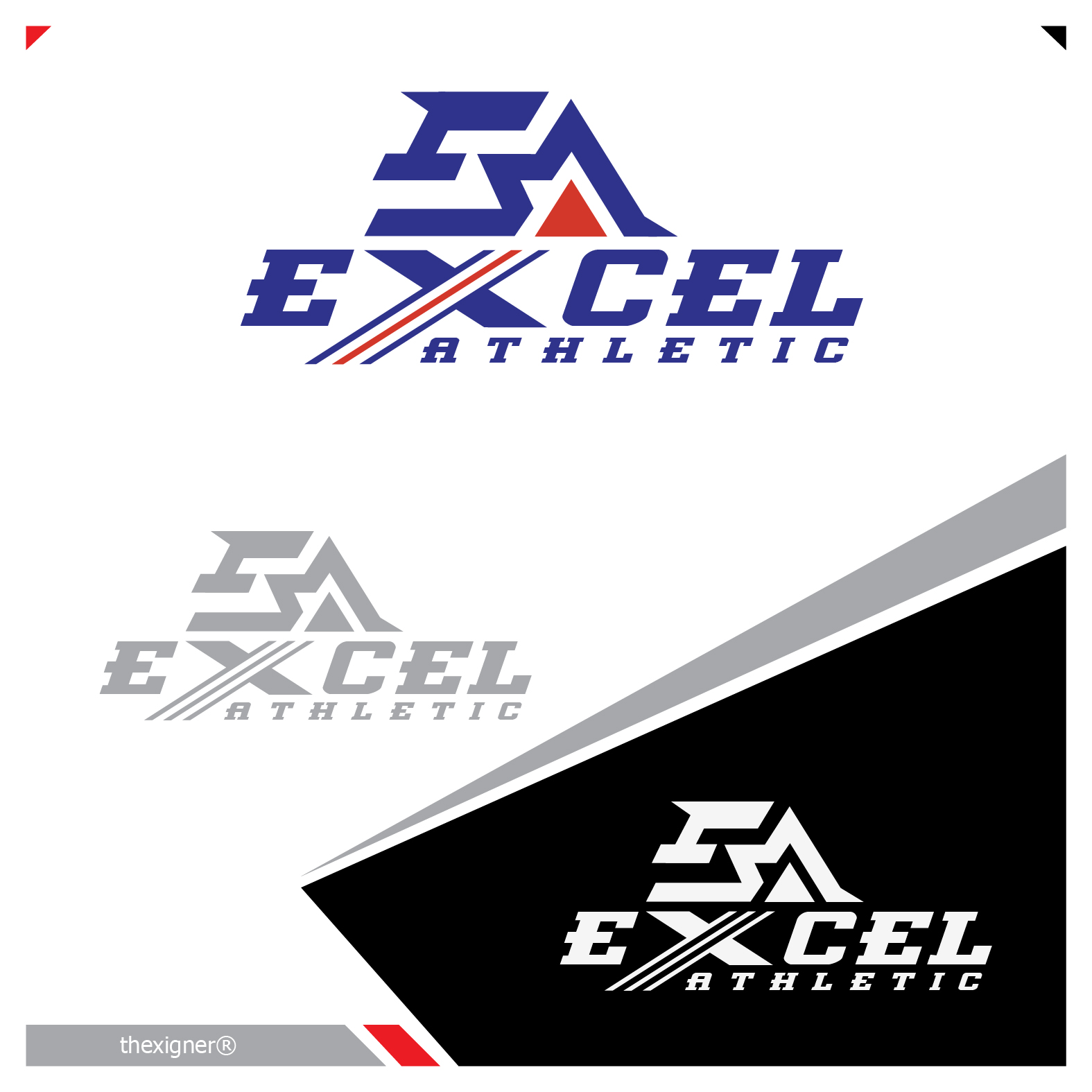 Logo Design by lagalag - Entry No. 48 in the Logo Design Contest Artistic Logo Design for Excel Athletic Conditioning 4 kids.
