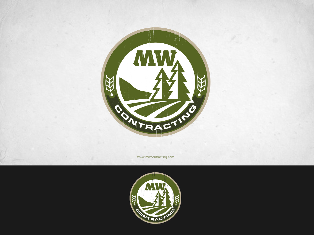 Logo Design by jpbituin - Entry No. 26 in the Logo Design Contest Unique Logo Design Wanted for MW Contracting.