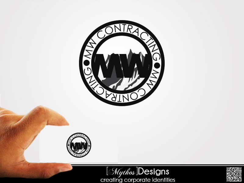 Logo Design by Mythos Designs - Entry No. 27 in the Logo Design Contest Unique Logo Design Wanted for MW Contracting.