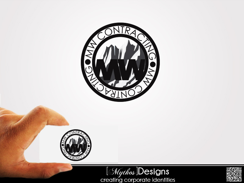Logo Design by Mythos Designs - Entry No. 28 in the Logo Design Contest Unique Logo Design Wanted for MW Contracting.