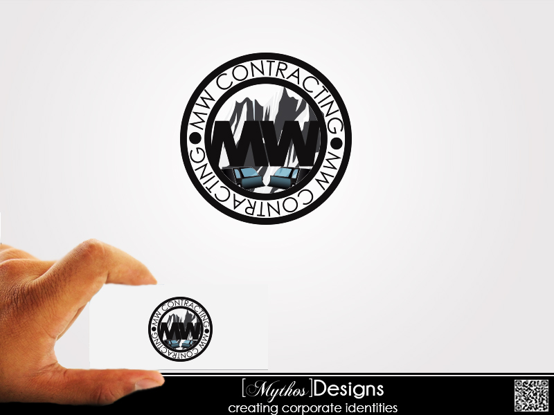 Logo Design by Mythos Designs - Entry No. 30 in the Logo Design Contest Unique Logo Design Wanted for MW Contracting.