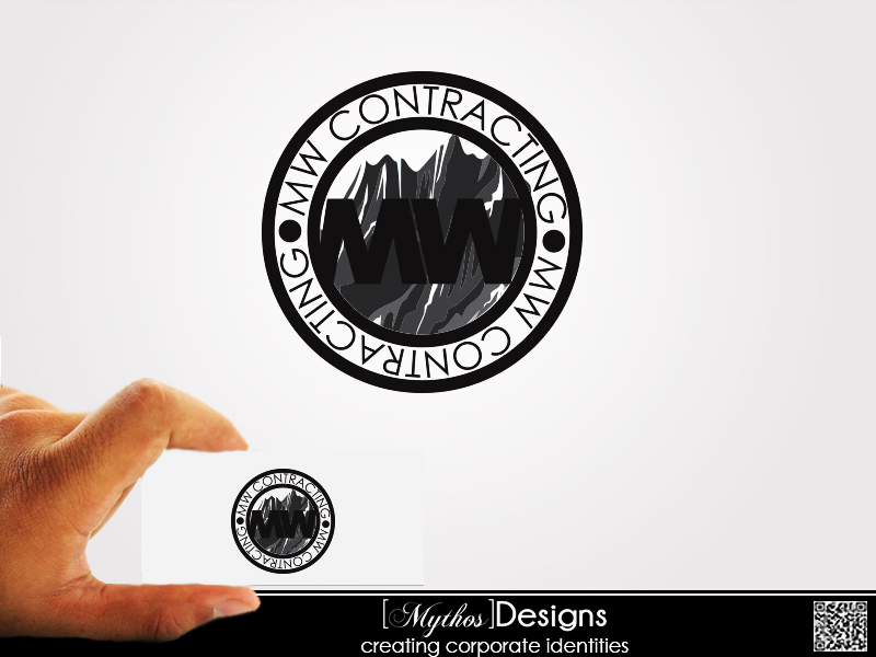 Logo Design by Mythos Designs - Entry No. 31 in the Logo Design Contest Unique Logo Design Wanted for MW Contracting.