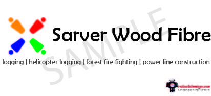Logo Design by James Turner - Entry No. 1 in the Logo Design Contest Creative Logo Design for Sarver Wood Fibre..